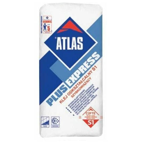 Atlas Klej do glazury plus express 25kg
